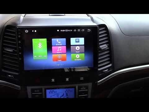 Автомагнитола для Hyundai Santa Fe 2006-2012
