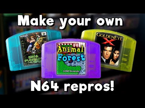 Make N64 Repros At Home (No soldering/wiring/skills required!)