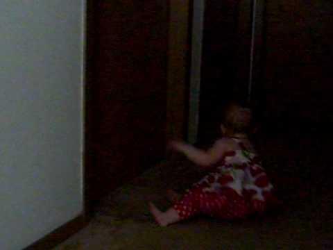 Chloe bang'n at bathroom door