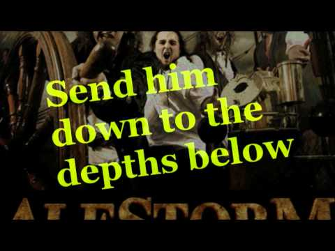 Alestorm - Keelhauled with Lyrics