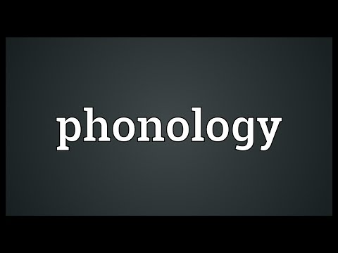 Phonology Meaning