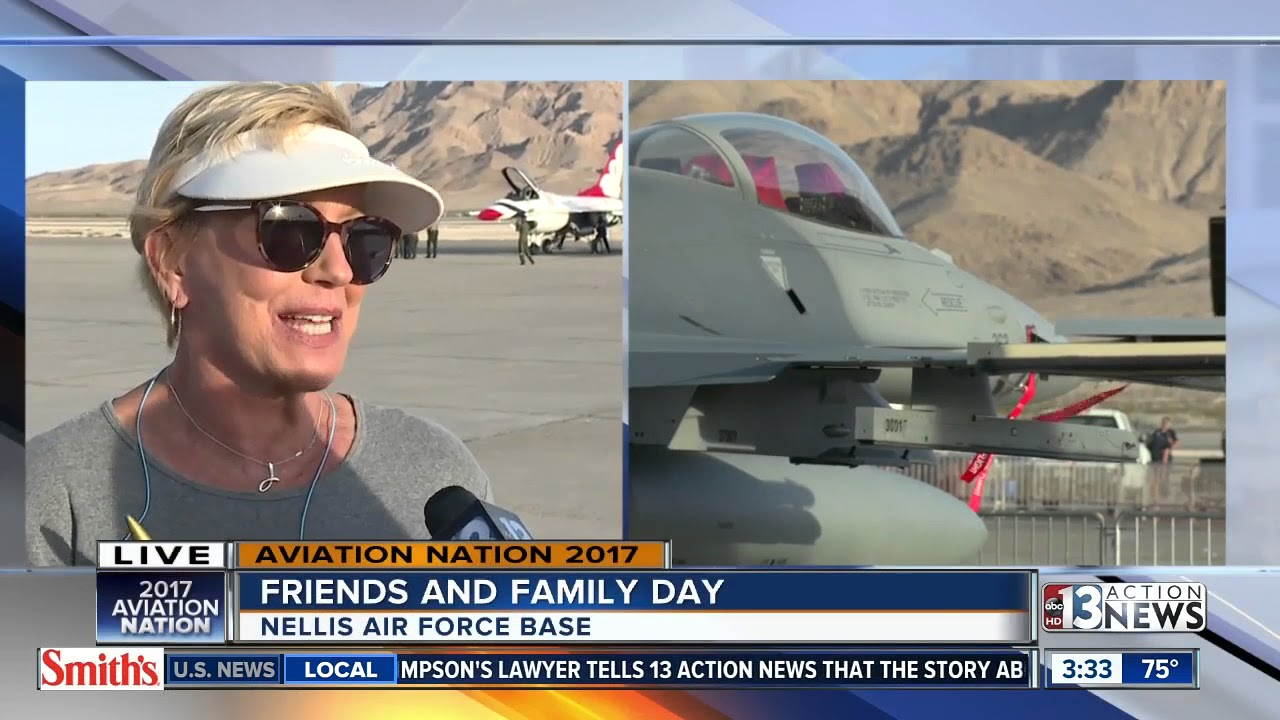 Over 80,000 people reportedly show up for Aviation Nation Friends and  Family Day