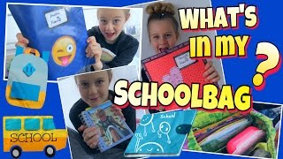 WHAT'S IN MY SCHOOLBAG ?🎒#Back to school | coole Mädchen