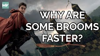 Harry Potter Broomsticks: Brief History AND Why Some Brooms Are Faster Than Others