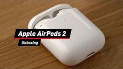 Apple AirPods 2: Zweite Generation ausgepackt!