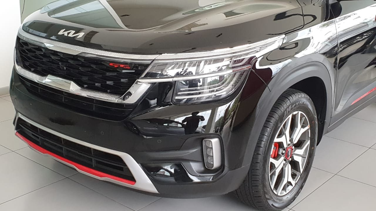 New Kia Seltos Launched | New Logo, Paddle Shifters | White, Grey, Black & Variants in 4K 60FPS
