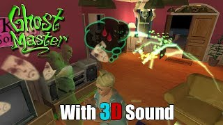 Ghost Master with 3D spatial sound (OpenAL Soft HRTF)