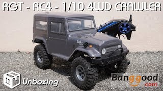 rGT - RC4 - 1/10 4WD Crawler - unboxing