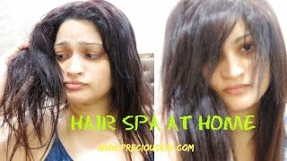 HOW TO Do a Super HAIR SPA at HOME | DIY | My Last Video for 2016 |