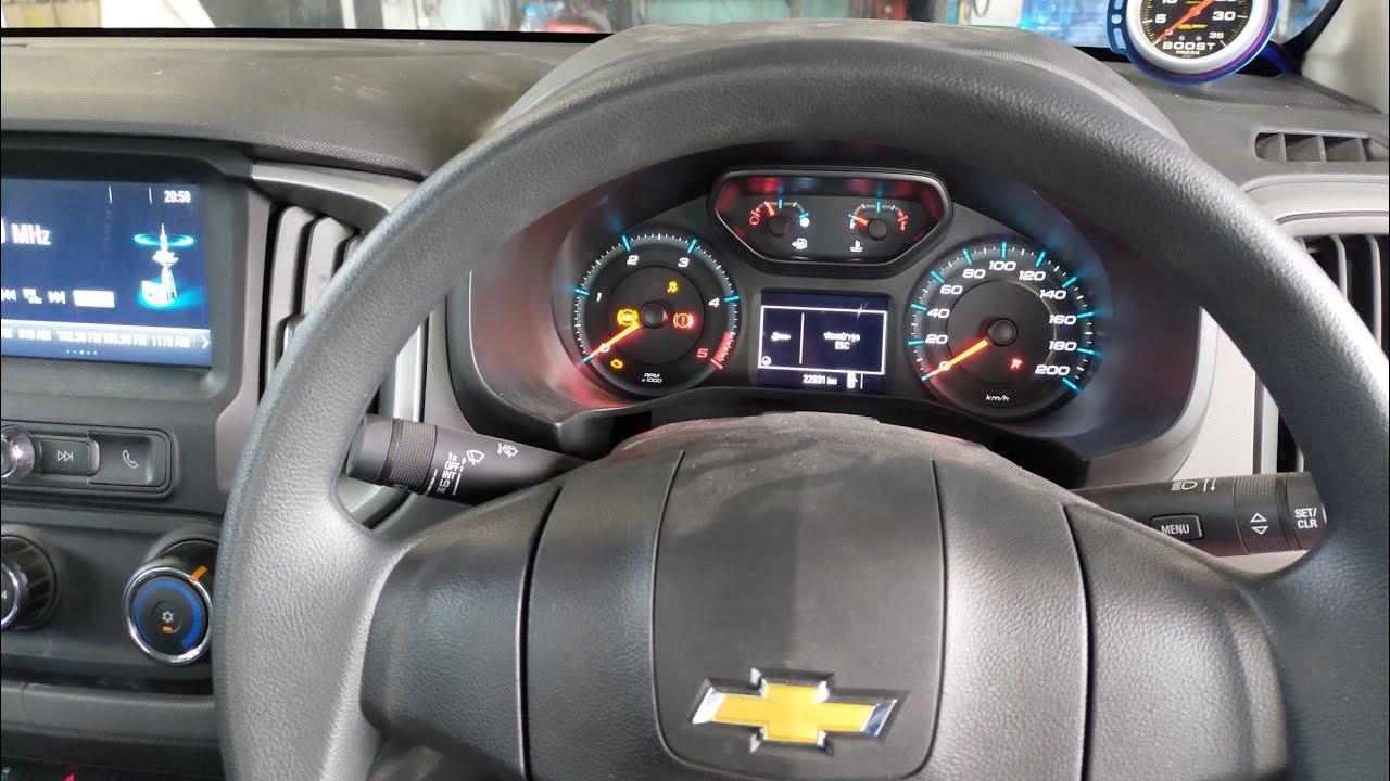 ิวิธีถอดเรือนไมค์  Chevrolet colorado อู่ซ่อมรถ