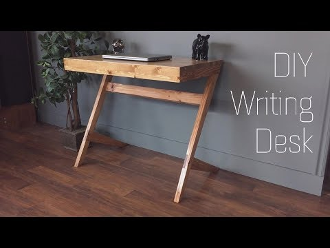DIY || Building a Modern Writing Desk