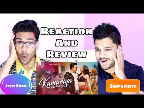 Kamariya Hila Rahi Hai Song Reaction And Review   Pawan Singh   Lauren G   Payal Dev   Mudassar Khan