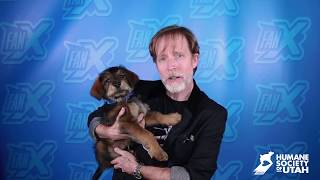 HSU at FanX18 with James Arnold Taylor