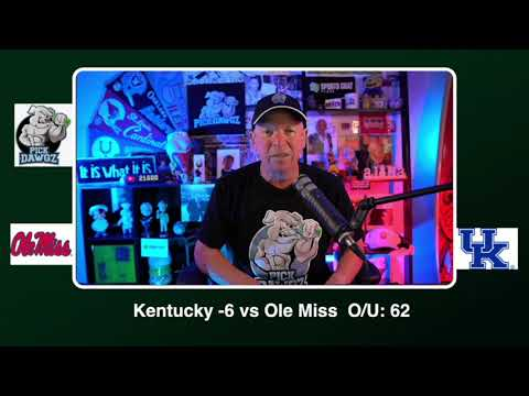 Kentucky vs Ole Miss Free College Football Picks and Predictions CFB Tips Saturday 10/3/20