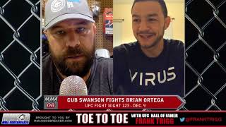 Frank Trigg pre-fight interview with UFC Fresno's Cub Swanson