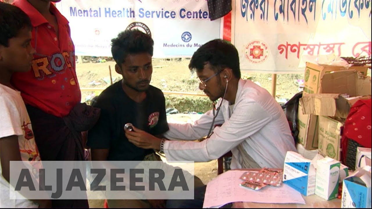 Risk of disease adds to Rohingya refugees' misery