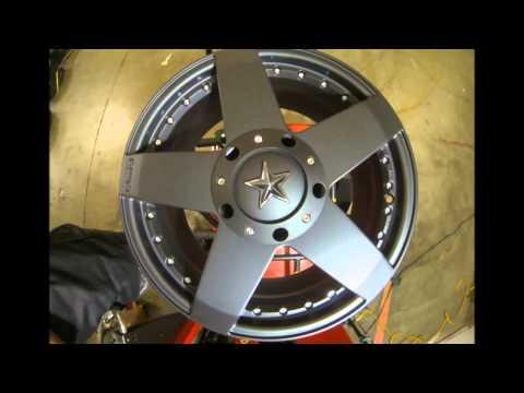 KMC Wheels 775 Rockstar Matte Black