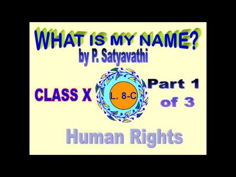 10 ENGLISH WHAT IS MY NAME PART 1SSC TELENGANA & SSC AP BOARD