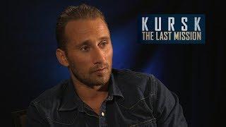 Matthias Schoenaerts On His Harrowing New Movie Kursk The Last Mission