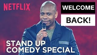 DAVE CHAPPELLE NETFLIX STAND-UP SPECIAL (REVIEW W/ NO SPOILERS) MUST WATCH TIL THE END!