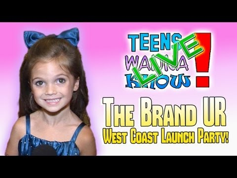 Teens Wanna Know - The Brand UR West Coast Launch Party Interviews