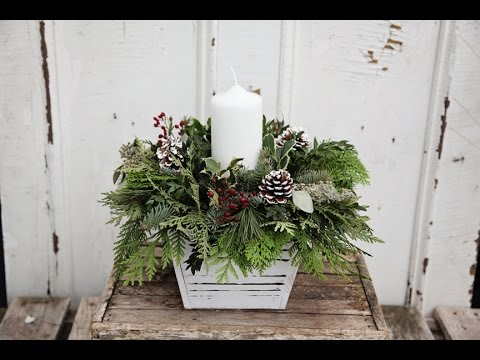 Holiday & Christmas Decor at Gemmells Garden Centre 2016