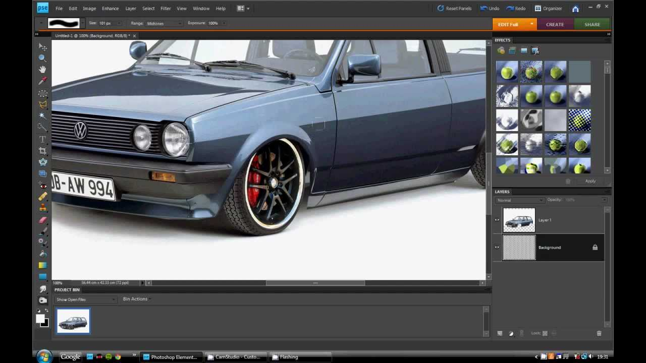 Photoshop Virtual Car Tuning Youtube