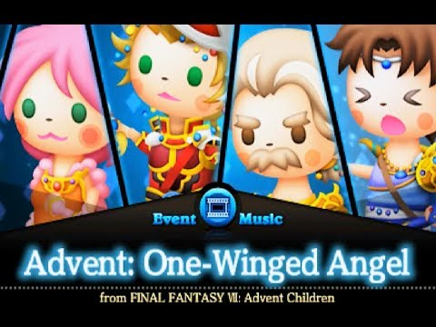 Advent: One-Winged Angel (Ultimate Score) Perfect Chain | Theatrhythm Final Fantasy Curtain Call~
