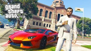 GTA 5 PC Mods - REAL LIFE MOD #16! GTA 5 School & Jobs Roleplay Mod Gameplay! (GTA 5 Mod Gameplay)