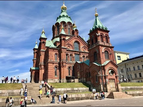 Churches of Helsinki: The Rock Church, Helsinki Cathedral and Uspenski Cathedral