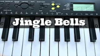 Jingle Bells | Easy Keyboard Tutorial With Notes (Right Hand)