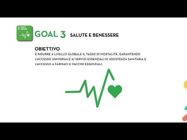 SDG's Goal 3: Salute e Benessere