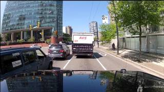 Driving Downtown Vancouver: A GoPro Hero 2 Timelapse