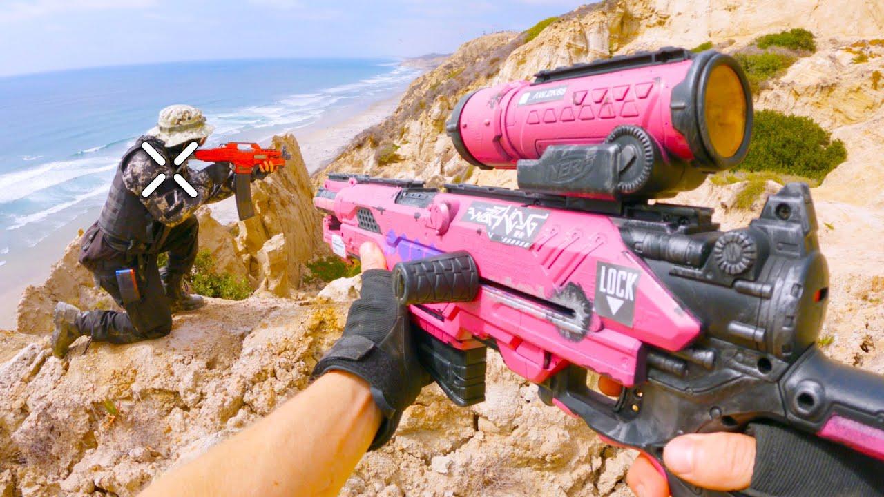 Nerf War: Garena Free Fire (Nerf First Person Shooter)