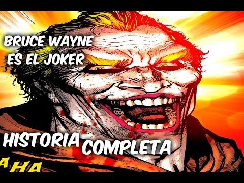 """BRUCE WAYNE ES EL JOKER """"Batman del Futuro Rebirth"""" Historia Completa @ComicsTj"""