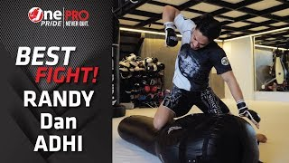 ROAD TO BATTLE OF THE PRIDE  RANDY PANGALILA vs ADHI PAWITRA || OnePride FN #33