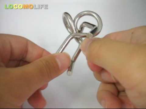 LOCOMO - Metal Wire IQ Magic Puzzle Brain Teaser