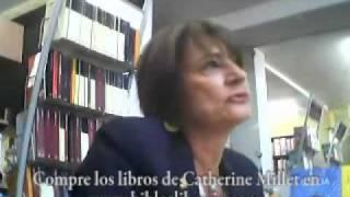 Catherine Millet en Biblos Librería