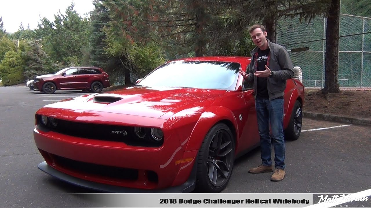 Review: 2018 Dodge Challenger SRT Hellcat Widebody