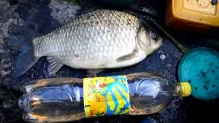 видео Рыбалка на озере Ик