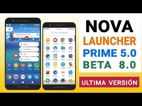 nova launcher beta 8 prime apk