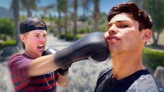 I Taught @Tanner Fox  How To Box | Ryan Garcia Vlogs