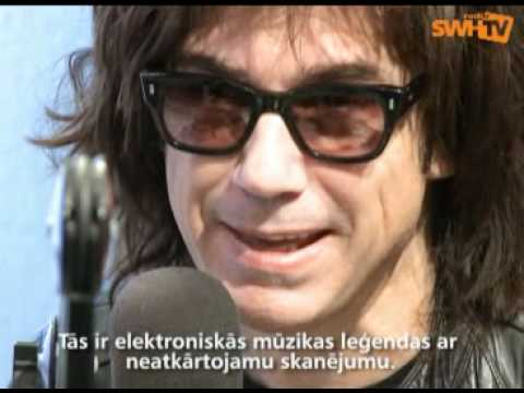 Jean-Michel Jarre - Radio SWH Latvia interview studio 2008
