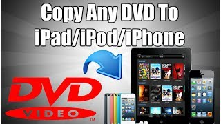 How To Copy Any DVD To iPad, iPod, iPhone(How to copy DVD to iPad, iPhone, or iPod Windows Download ▻ http://goo.gl/gwJkn Mac Download ▻ http://goo.gl/hsRjf In this video I'll show you how to copy ..., 2014-02-25T16:44:24.000Z)