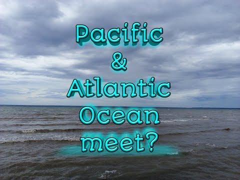 2017 Atlantic Ocean and Pacific Ocean Meet?