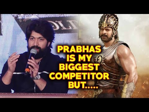 KGF Yash Reaction On South Super Star Prabhas Bahubali | Farhan Akhtar