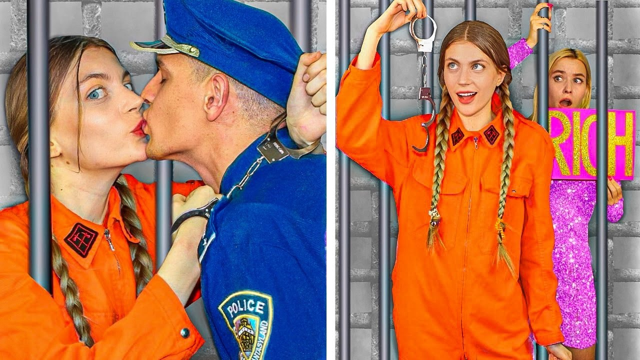Rich Jail vs Broke Jail! Funny Situations & DIY Ideas by Mr Degree