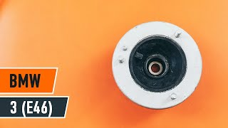 Comment et quand changer Tete d'amortisseur avant et arrière BMW 3 (E46) : vidéo tutoriel