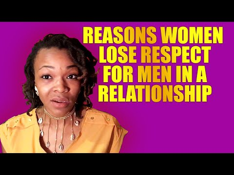 When does man lose respect woman