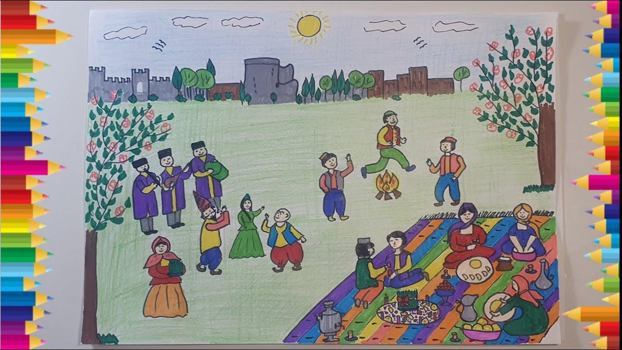 Novruz Bayramina Aid Səkil Necə Cəkilir Nevruz Bayraminiz Kutlu Olsun Happy Nevruz Happy Nowruz Youtube